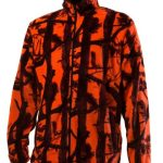 FLEECE ORANGE WOOD